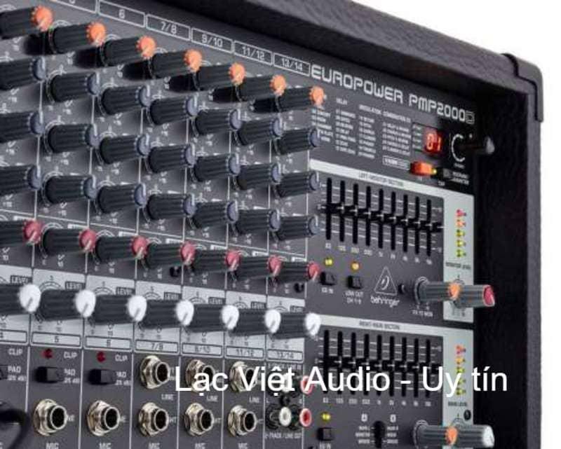 Cấu tạo núm điều chỉnh của Mixer Behringer PMP 2000D