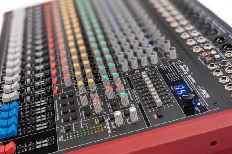Nút điều chỉnh Mixer Soundking MIX16C