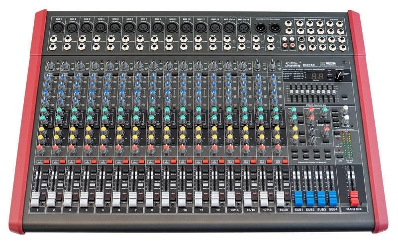 Mặt trước Mixer Soundking MIX16C