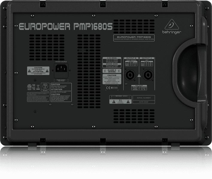 Mixer Behringer PMP 1680S