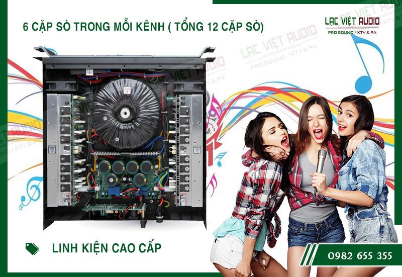 Một số đặc điểm nổi bật của sản phẩm Cục đẩy công suất Aplus GD 2400