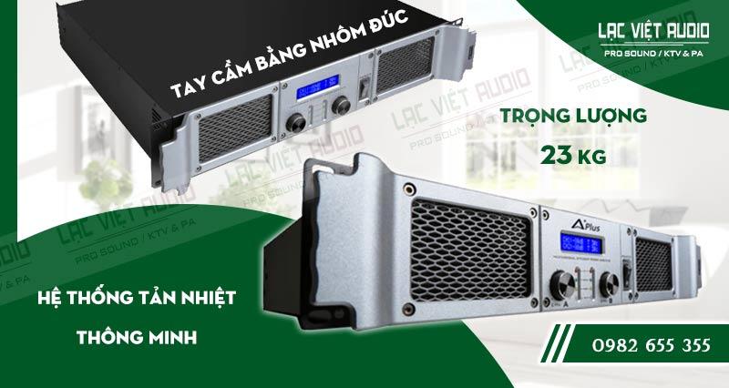 Thiết kế bên ngoài của sản phẩm Cục đẩy công suất Aplus GD 2400