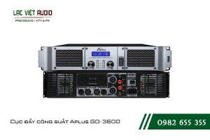 Giới thiệu về thiết bị Cục đẩy công suất Aplus GD 3600