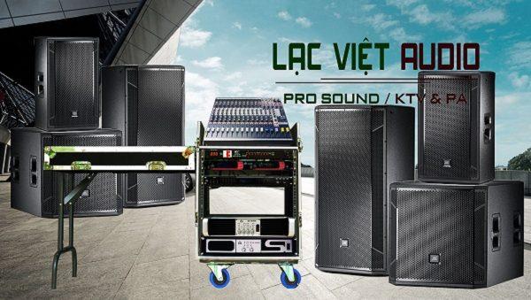 Bộ dàn âm thanh sân khấu do Lạc Việt Audio lên cấu hình