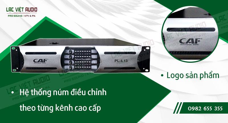Thiết kế bên ngoài của sản phẩm Cục đẩy công suất CAF PL 4.13