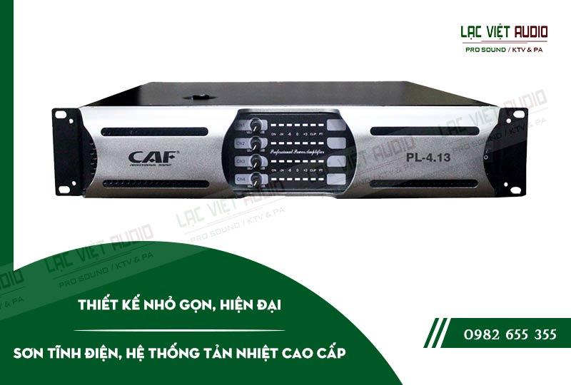 Một số đặc điểm nổi bật của sản phẩm Cục đẩy công suất CAF PL 4.13