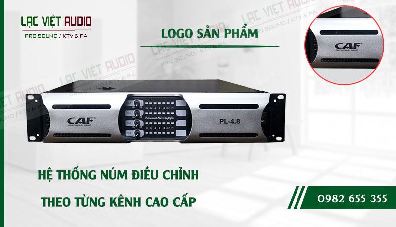 Thiết kế bên ngoài của sản phẩm Cục đẩy công suất CAF PL 4.8