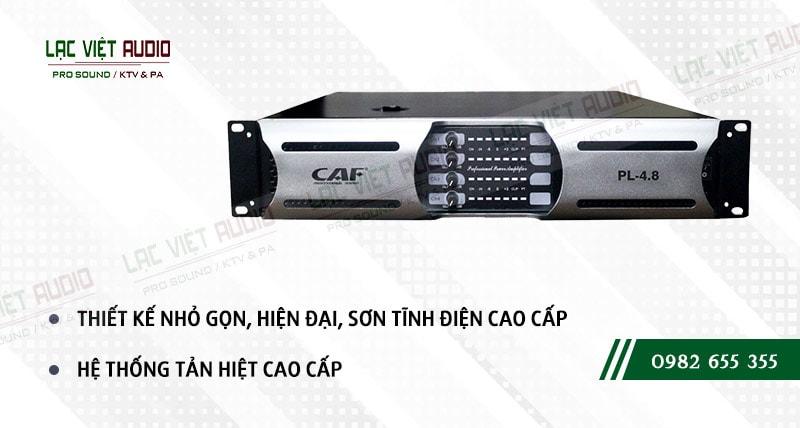 Một số đặc điểm nổi bật của sản phẩm Cục đẩy công suất CAF PL 4.8