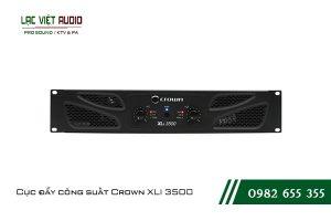Giới thiệu về sản phẩm Cục đẩy công suất Crown XLI 3500
