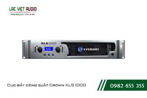Giới thiệu về sản phẩm Cục đẩy công suất Crown XLS 1000
