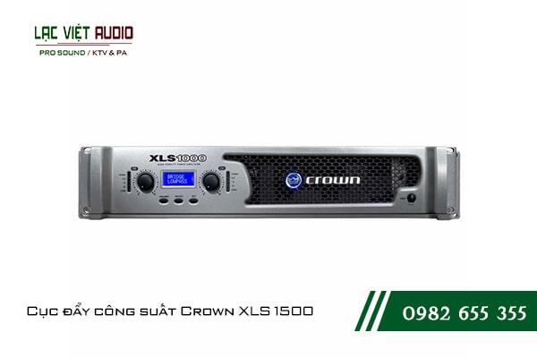 Giới thiệu về sản phẩm Cục đẩy công suất Crown XLS 1500