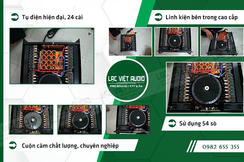 Các đặc điểm nổi bật của sản phẩm Cục đẩy công suất DB HK 1600