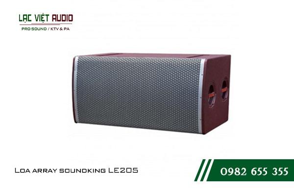 Giới thiệu về thiết bị Loa array soundking LE205
