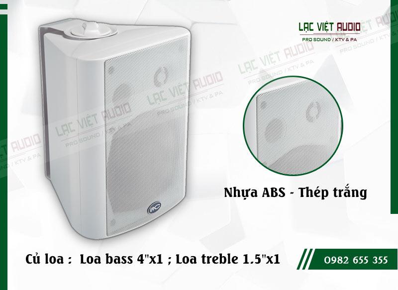 Các đặc điểm nổi bật của sản phẩm Loa gắn tường ITC T774PW