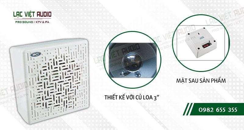 Các đặc điểm nổi bật của thiết bị Loa gắn tường ITC T601C