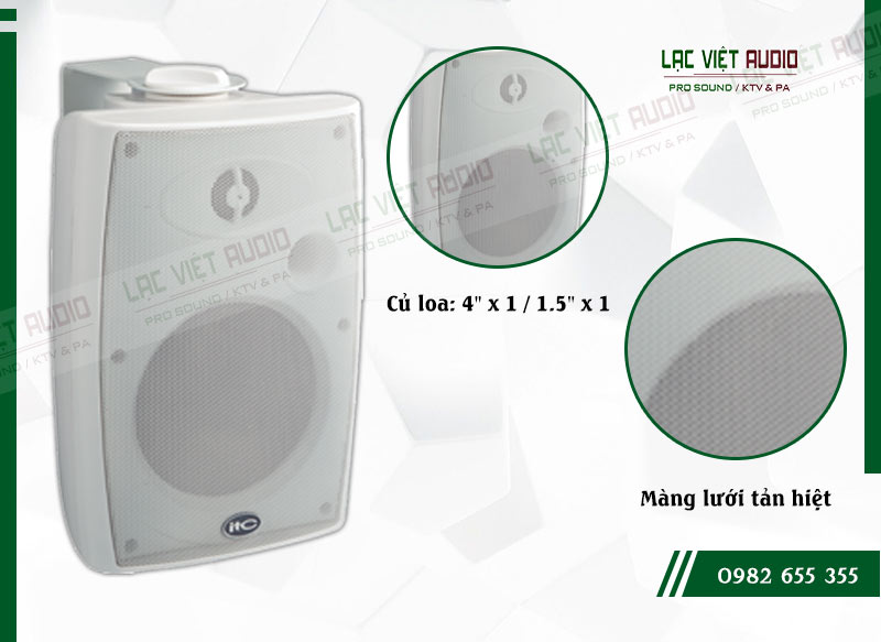 Các đặc điểm nổi bật của sản phẩmLoa gắn tường ITC T774HW