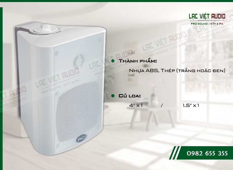 Các đặc điểm nổi bật của sản phẩm Loa gắn tường ITC T774W