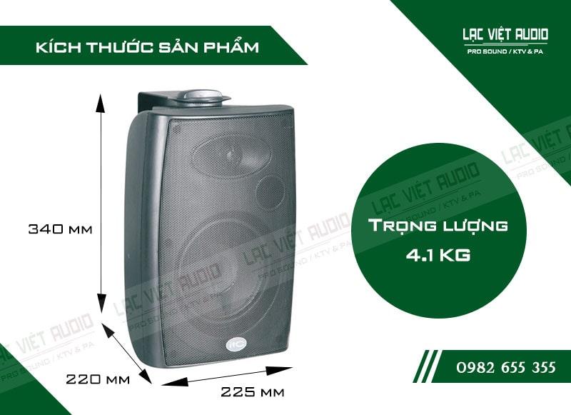 Thiết kế bên ngoài của sản phẩm Loa gắn tường ITC T776H