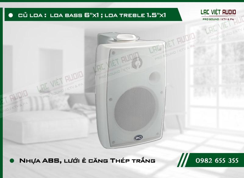 Các đặc điểm nổi bật của sản phẩm Loa gắn tường ITC T776HW