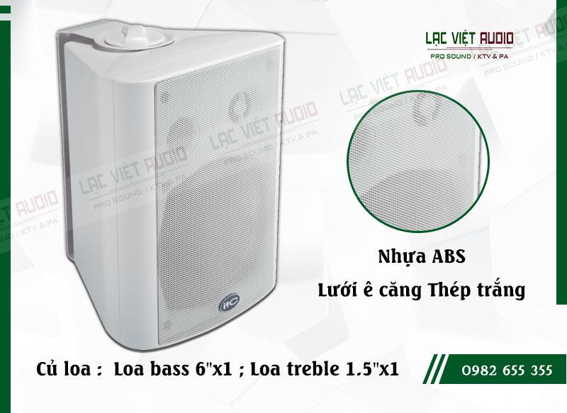 Các đặc điểm nổi bật của sản phẩm Loa gắn tường ITC T776W