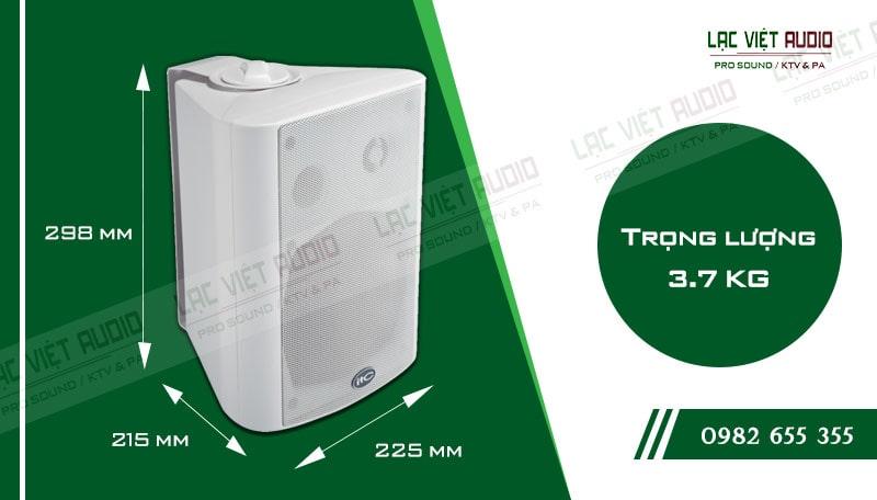 Thiết kế bên ngoài của sản phẩm Loa gắn tường ITC T776W