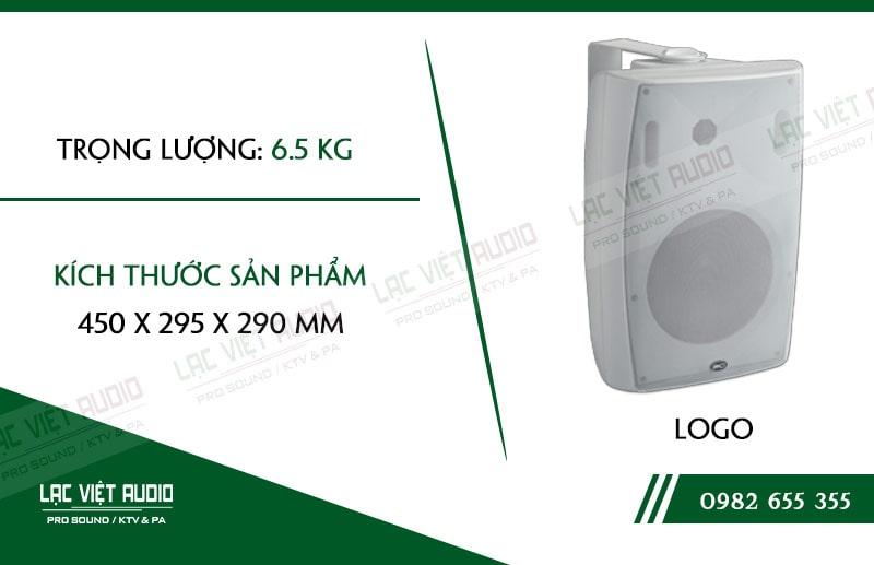 Thiết kế bên ngoài của sản phẩm Loa gắn tường ITC T778HW