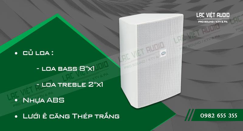 Các đặc điểm nổi bật của sản phẩm Loa gắn tường ITC T778PW