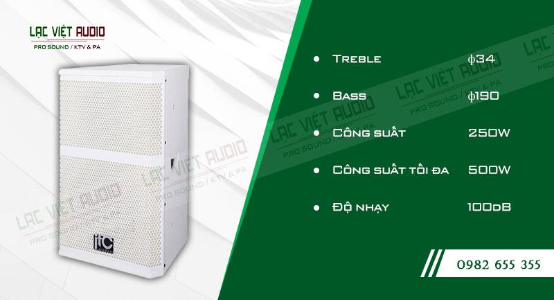 Các đặc điểm nổi bật của sản phẩm Loa hộp ITC TS10W