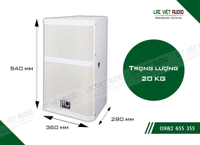 Thiết kế bên ngoài của sản phẩm Loa hộp ITC TS10W
