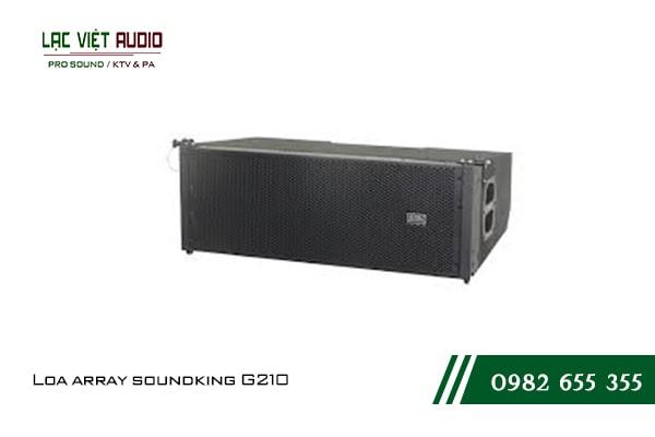 Giới thiệu về thiết bị Loa array soundking G210