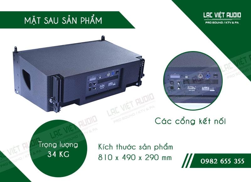 Thiết kế bên ngoài của sản phẩm Loa array soundking G210A