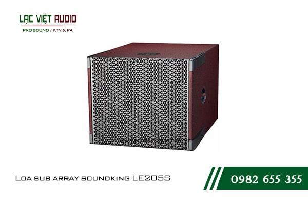 Giới thiệu về thiết bị Loa sub array soundking LE205S