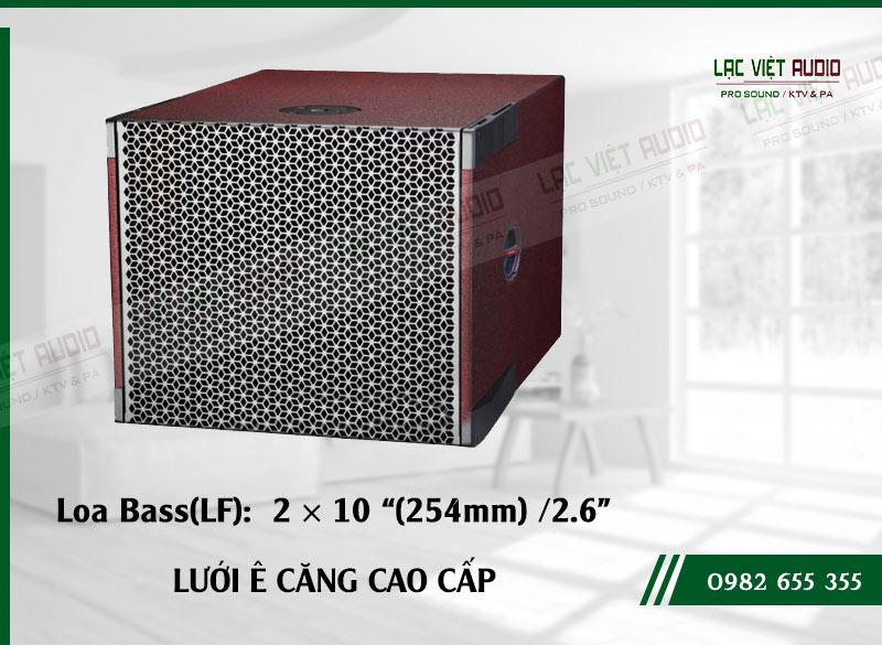Các đặc điểm nổi bật của sản phẩm Loa sub array soundking LE205S
