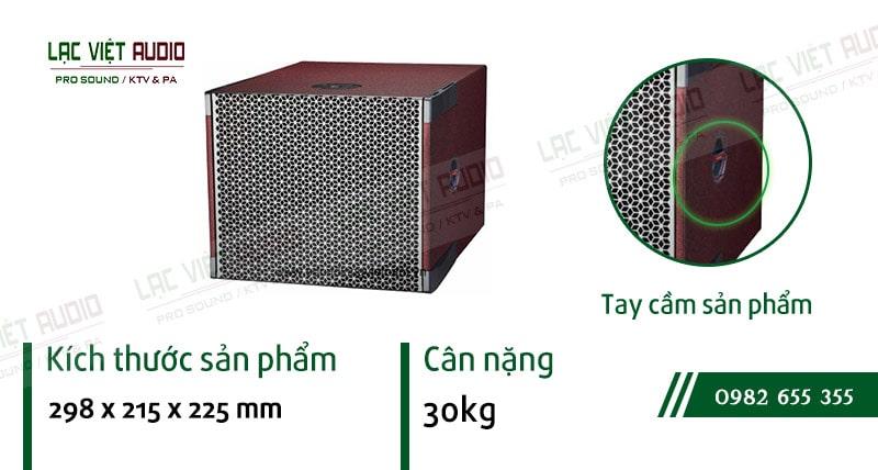Thiết kế bên ngoài của sản phẩm Loa sub array soundking LE205S