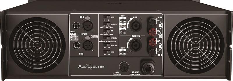 Mặt sau cục đẩy Audiocenter VA 2101