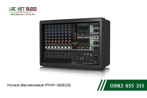 Giới thiệu tổng quan về thiết bị Mixer Behringer PMP 1680S