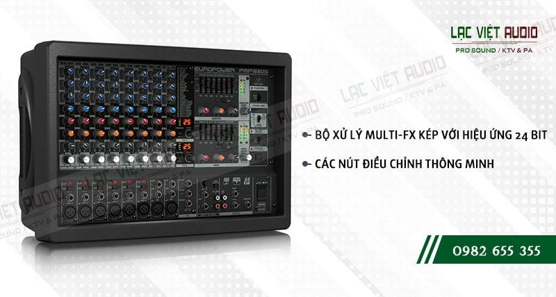Các đặc điểm nổi bật của sản phẩm Mixer Behringer PMP 1680S
