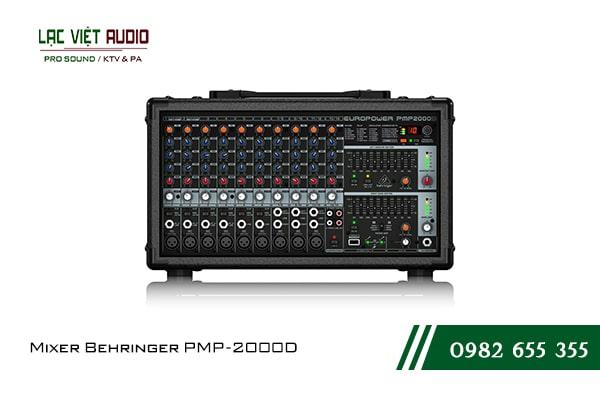 Giới thiệu tổng quan về thiết bị Mixer Behringer PMP 2000D