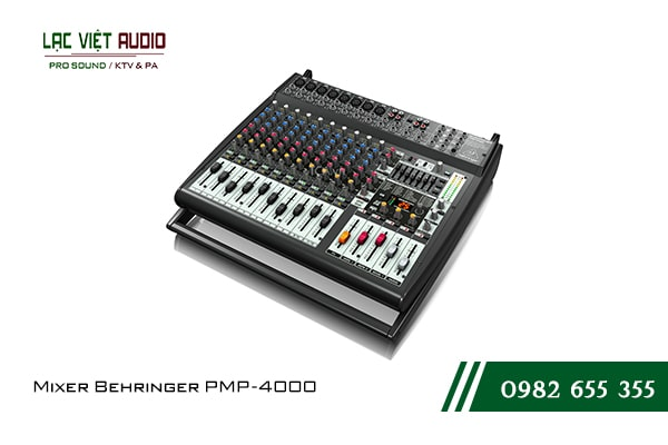 Giới thiệu về sản phẩm Mixer Behringer PMP 4000