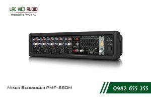 Giới thiệu về sản phẩm Mixer Behringer PMP 550M