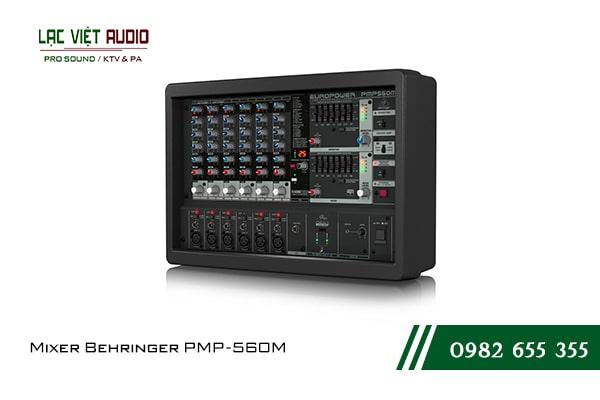 Giới thiệu về sản phẩm Mixer Behringer PMP 560M