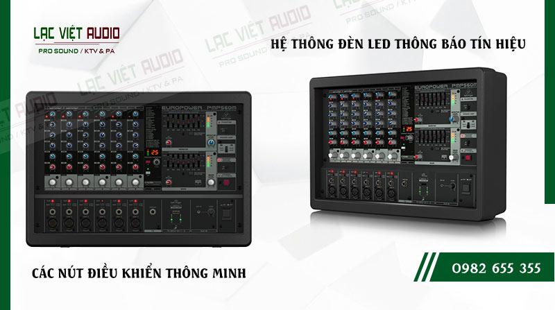 Các đặc điểm nổi bật của sản phẩm Mixer Behringer PMP 560M