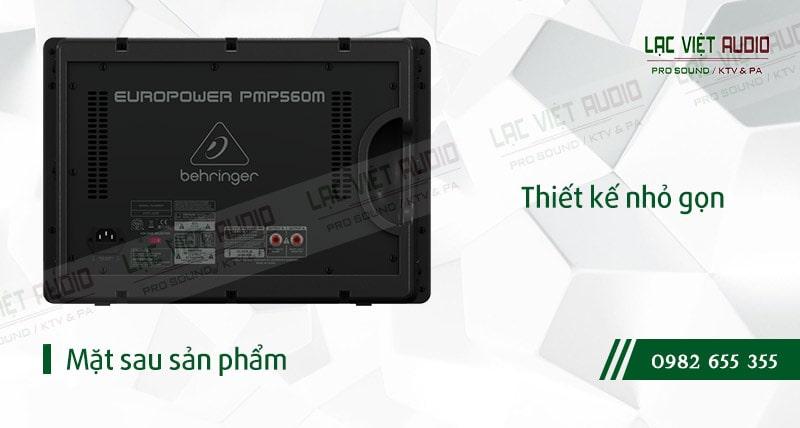 Thiết kế bên ngoài của sản phẩm Mixer Behringer PMP 560M