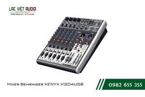Giới thiệu về sản phẩm Mixer Behringer XENYX X1204USB