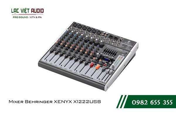 Giới thiệu về sản phẩm Mixer Behringer XENYX X1222USB