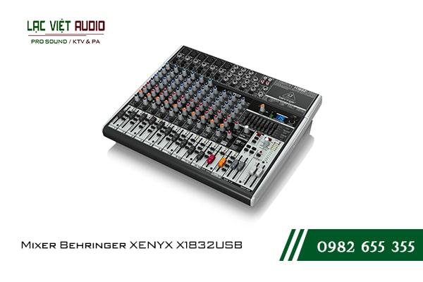 Giới thiệu về sản phẩm Mixer Behringer XENYX X1832USB