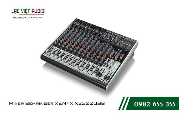 Giới thiệu tổng quan về thiết bị Mixer Behringer XENYX X2222USB