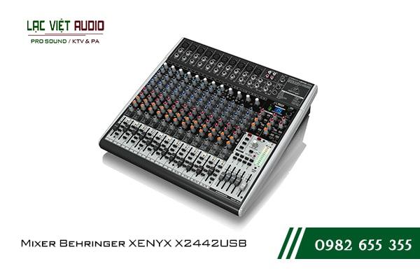 Giới thiệu tổng quan về thiết bị Mixer Behringer XENYX X2442USB