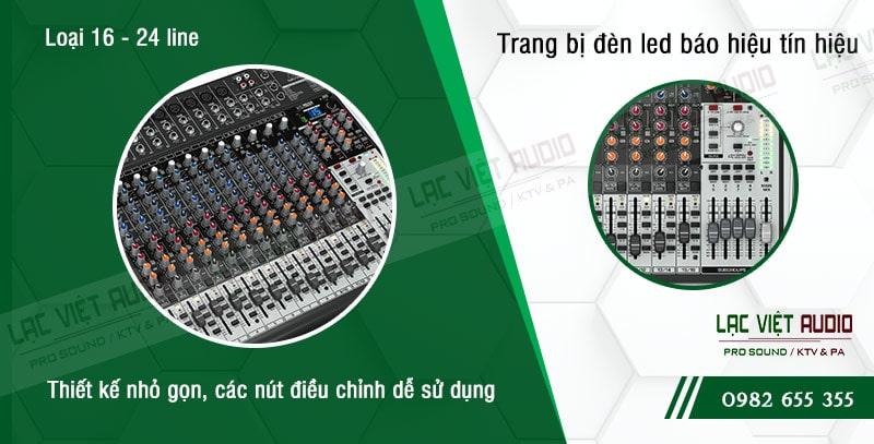 Các đặc điểm nổi bật của sản phẩm Mixer Behringer XENYX X2442USB