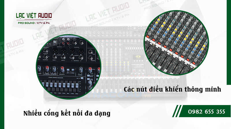 Các đặc điểm nổi bật của sản phẩm Mixer Dynacord CMS 2200
